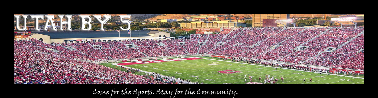Utahby5.com.  Come for the Sports, Stay for the Community - Powered by vBulletin